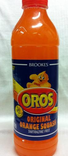 Oros orange squash