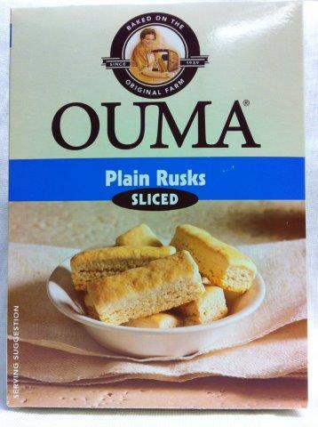 Ouma rusks plain sliced