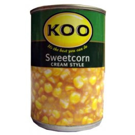 Koo Cream Sweet Corn 415g