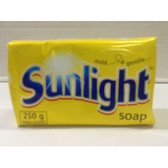 Sunlight Laundry Soap 250g Bar