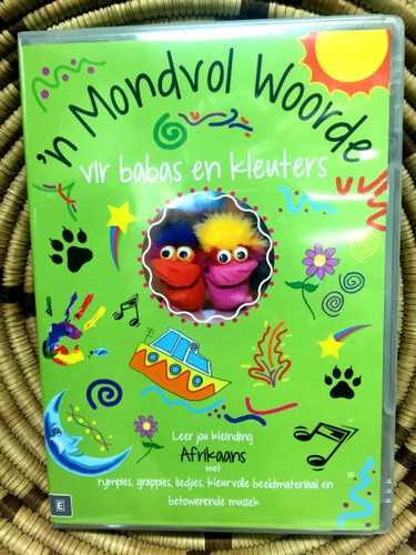'n Mondvol Woorde Learn Afrikaans CD