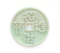 Fortune Coin Jade Pendant