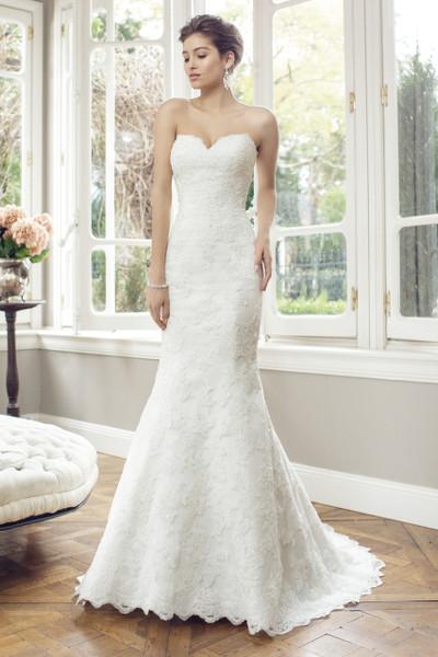 Bridal Tulle Slim A-line Wedding Dress