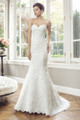 Tulle Slim A-line Wedding Dress