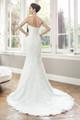 Slim A-line wedding dress