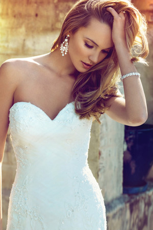 Lace A-line Wedding Dress - Brianna
