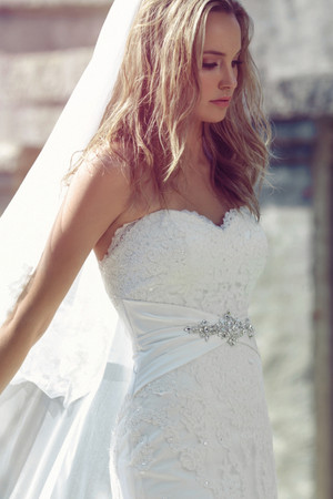 Lace A-line Wedding Dress - Briony