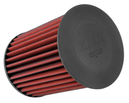 Part Number:             aem-AE-20993 Description:               DryFlow Air Filter; Round; Air Filter Color:          Red Air Filter Material:    Non-woven Synthetic Air Filter Shape:        Round Filter Material     Non-woven Synthetic