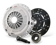 Heavy duty pressure plate. Sprung hub Fiber Friction lined disc.
