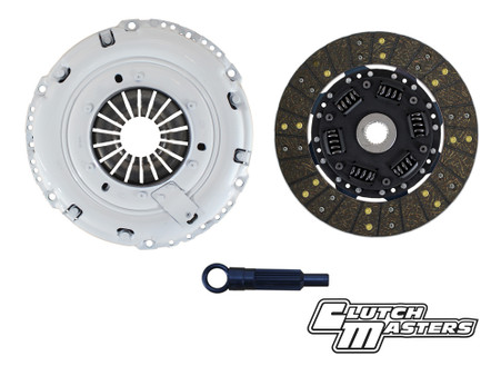 Heavy duty pressure plate. Sprung hub Steel-backed organic lined disc. (Must use with single mass flywheel).     ***Hydraulic release bearign not included***