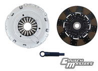 Heavy duty pressure plate. Sprung hub dual friction Organic/Fiber Tough disc (Must use with single mass flywheel).   *** Hydraulic release bearing not included***