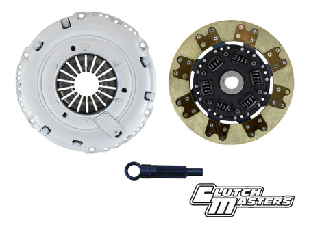 Heavy duty pressure plate. Sprung hub Segmented Kevlar lined disc. (Must use with single mass flywheel).    **Hydraulic release bearing not included**