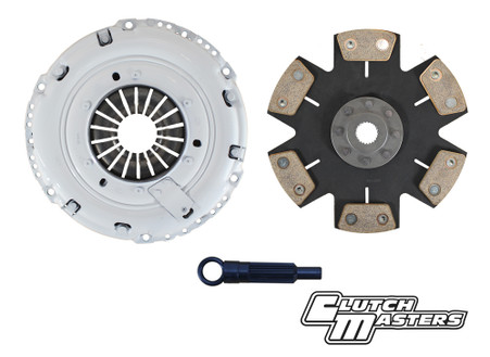Heavy duty pressure plate. Rigid disc. 6-puck ceramic disc  Will work with factory OEM DMF.    **Hydraulic release bearing not included**