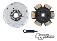 Heavy duty pressure plate.  6-puck ceramic sprung disc (Must use single mass flywheel).   ***Hydraulic release bearing not included***