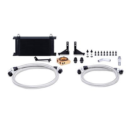 Part Number:     MMOC-FIST-14TBK Description:        Ford Fiesta ST Oil Cooler Kit Color:                    Black Finish:                   Powder-Coat Material:              Aluminum