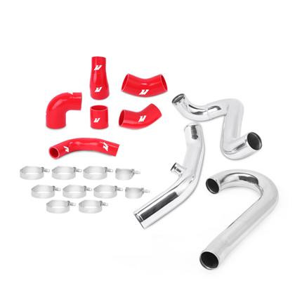 Part Number:      MMICP-FIST-14P Description:         Ford Fiesta ST Intercooler Pipe Kit Color:                     Silver Finish:                   Polished