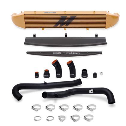 Part Number:    MMINT-FIST-14KBG Description:       Ford Fiesta ST Performance Intercooler Kit Color:                   Gold Finish:                  Powder-Coat