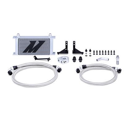 Part Number:       MMOC-FIST-14 Description:          Ford Fiesta ST Oil Cooler Kit Color:                      Silver Finish:                    Powder-Coat Material:                Aluminum