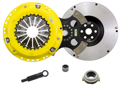 Part Number:     actZX5-HDR4 Description:        ACT 2007 Mazda 3 HD/Race Rigid 4 Pad Clutch Kit Disc Type:            Race Disc