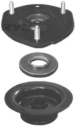Part Number:       kybSM5540 Description:         Mount, Spring Seat and Bearing Position:                Front Upper   Mazda 2006-07 Speed 6