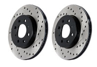 Part Number:    st128.45073R Description:      Drilled Sportstop Rotor Position:             Front Right   Mazda 2006-07 Speed 6