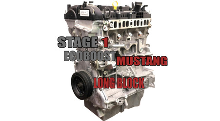 SP63 Stage 1 Built Long Block For Ford Mustang Ecoboost Rated 500hp+