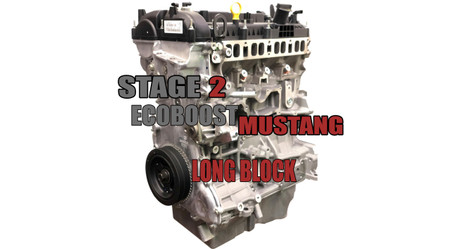 SP63 Stage 2 Built Long Block For Ford Ecoboost Mustang 2.3Rated 700hp+