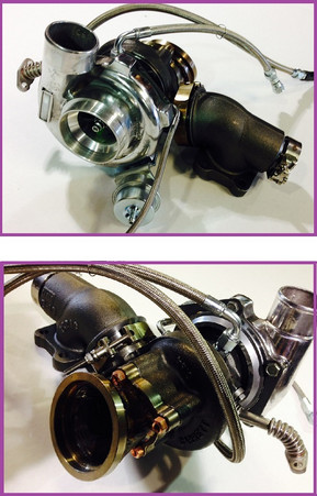 GTX2867R Bolt-on Turbo For Ford Focus ST