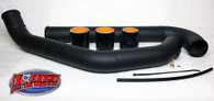 HTP 2007-2009 Mazdaspeed3 Under-Route Intercooler Piping- Hot Side (Big Turbo Applications Only)
