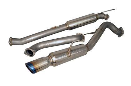 Part Number:      injSES9016RS Description:        CatBack Exhaust System Piping:                   3in Tip:                         Burnt SS