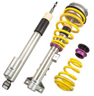 Part Number:           kw35230063 Description:              KW Coilover Kit V3 - 2014 Ford Fiesta ST Front Lowering:      0.2-1.2in (5-30mm) Rear Lowering:        0.2-1.0in (5-25mm) Spring Rate (F/R):  Progressive