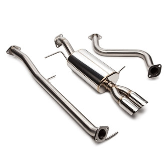 "Ford Fiesta ST 2.5"" Stainless Steel Dual Tip Cat-Back Exhaust"
