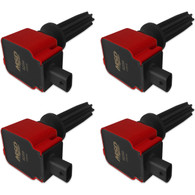 MSD Set 4 Direct Replacement Ignition Coil Ford