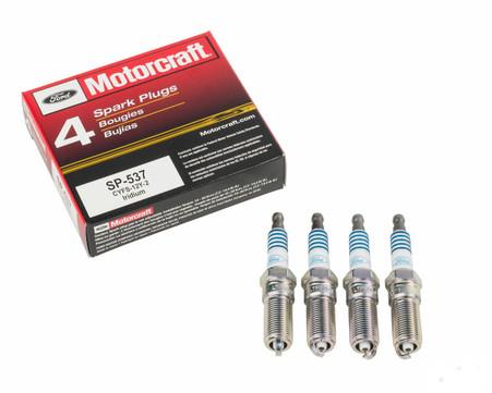 Ford Motorcraft OEM Spark Plugs set 4 For Ford Ecoboost 2.0L