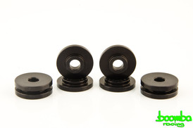 Boomba Racing Aluminum Shifter Base Bushings black For Ford Ecoboost 2.0L