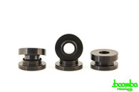 Boomba Racing Aluminum Transmission Cable Bracket Bushings BLK  For Ford Ecoboost 2.0L