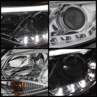 Part Number spy5072825 Description: Spyder Ford Focus 12-14 Projector Headlights Halogen Model Only - DRL Chrome PRO-YD-FF12-DRL-C