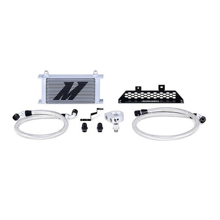Part Number: MMOC-FOST-13T Description: Ford Focus ST Oil Cooler Kit; Alternate Part Number: MMOCFOST-13T ; Color: Silver; Finish: Powder-Coat Installation Difficulty: 3/5; Material: Aluminum