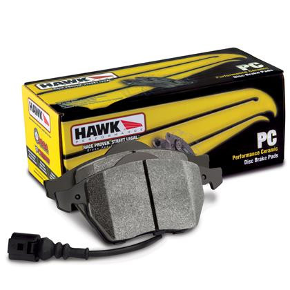 Part Number:  Hawk HB712Z.680; Description: Perf Ceramic Brake Pads; FMSI ID, D1567 / D1668; Caliper Type: OEM; Thickness: 0.680mm