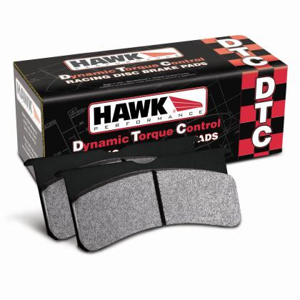 Part Number:  Hawk HB478U.605; Description:  DTC-70 Brake Pads; w/ Upper Notch And Spring; Caliper Type: OEM; Thickness:   0.605mm