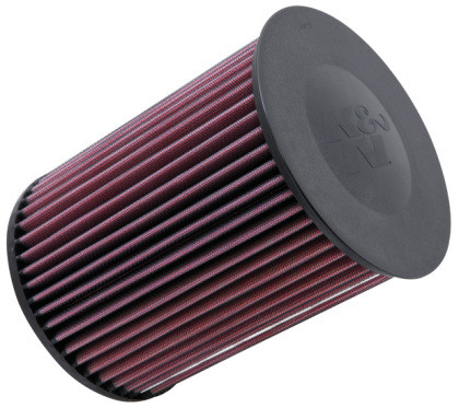 Part Number:  knE-2993; Description:  Panel Replacement Filter; Air Filter Shape:  Round; Filter Material:  Cotton Gauze; Filter Re-Oiling Amount:  1.89 oz (56 ml); Flanges: None; Height: 8.25 in (210 mm); Inner Wire: No; Inside Diameter: 2.75 in (70 mm); Outside Diameter: 6.25 in (159 mm); Package Contents: 1 Air Filter; Package Quantity: 1; Product Style: Round Air Filter; Top Material/Finish: None; Top Style:  Plastic; Weight: 1.4 lb (0.6 kg); Title: K&N E-2993 Replacement Air Filter; Top Material: None