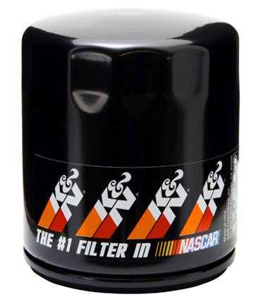 Part Number: KNPS-1002; Description: Pro-Series High Flow Oil Filter; Fits Many Applications;  Anti Drain Back Valve: Yes; Bypass Valve: Yes; Filter Material: High Flow Premium Media; Gasket Material: Nitrile Rubber; Height: 3.75 in (95 mm); Outside Diameter: 3 in (76 mm); Product Style: Oil Filters; PSI Relief Valve: 11-14; Removal Nut: No; Style: Canister; Thread Specification: 3/4 In. - 16; Weight: 0.7 lb (0.3 kg); Title: K&N PS-1002 Oil Filter;