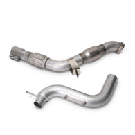 Part Number: bbk1809 Description: BBK 2015-16 Ford Mustang 3 Ecoboost Down Pipe With Cats