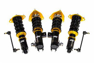Part Number:           iscF026-T Description:              N1 Coilovers; Track Series; Link Bar Included Front Pillowball:     Camber Plates/ Pillowball Front Spring:            180mm / 10kg Rear Pillowball:      Basic w/ Top Plates, No Camber Plates Rear Spring:             14kg