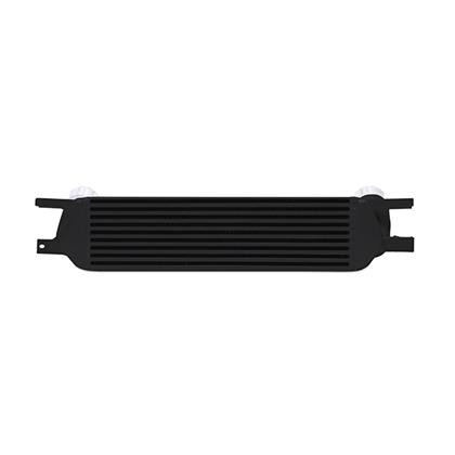 Part Number:     MMINT-MUS4-15BK Description:        Ford Mustang EcoBoost Performance Intercooler Color:                     Black Finish:                    Powder-Coat Material:               Aluminum