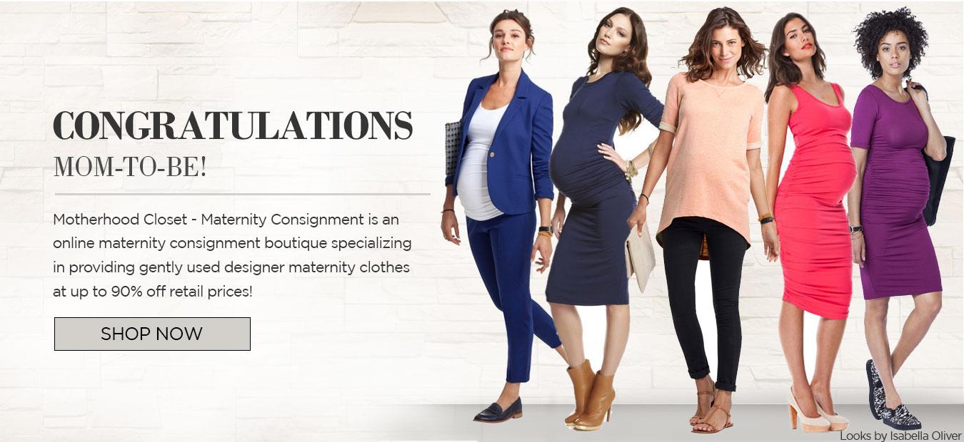 used maternity clothing