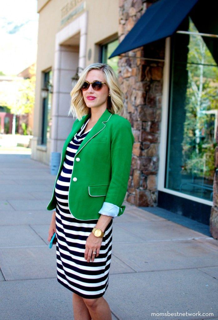 41aab87396a64 Enjoy the Versatility of a Maternity Blazers. Posted by Motherhood Closet  ...