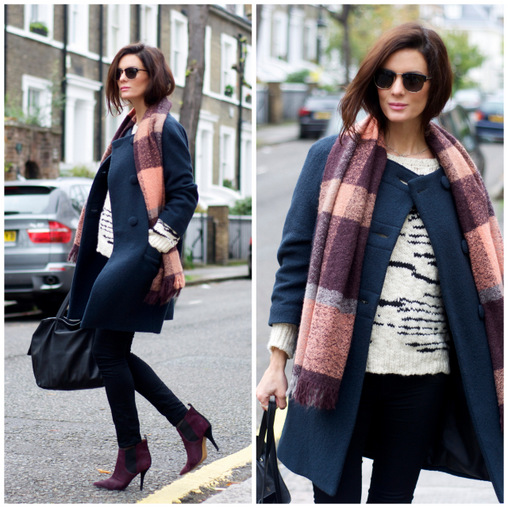 Stylish and Pregnant: Chic Winter Maternity Street Style ...