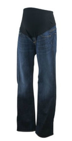 Denim Blue Citizens of Humanity for A Pea in the Pod Maternity Skinny Designer Maternity Jeans (Like New - Size 27)