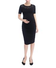 *New* Black MoMo Maternity Ally Laced Bodycon Maternity Dress (Size -  Medium)